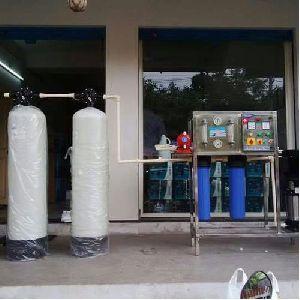 1000 LPH Manual Reverse Osmosis Plant