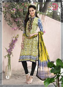 Embroidered Unstitched Suits