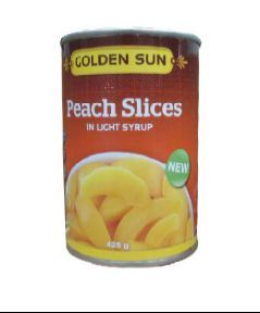 Canned Peach Sliced