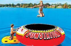 Funstation Water Trampoline