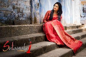 Pure Matka Silk Saree