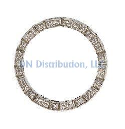 87 Ct Diamond & 18KT White Gold Ring