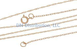 14KT Rose Gold Chain Necklace