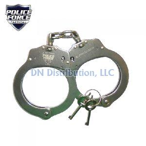 Streetwise Nickel Plated Solid Steel Handcuffs