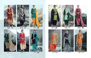 Embroidered Patiala Suits
