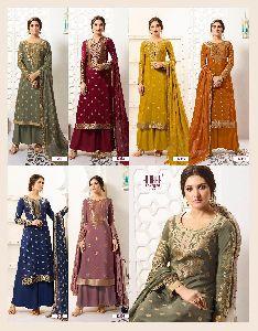 Pure Banarasi Silk Suits