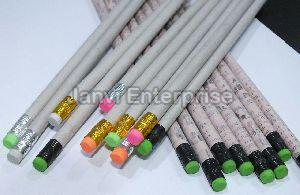 Rubber Tipped Paper Pencil