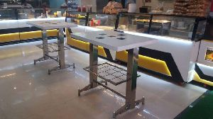 Stainless Steel Standing Table 02