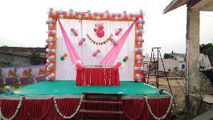 Birthday Stage Decoration Services