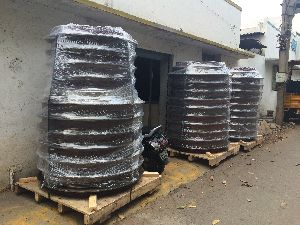 PALLETS AND END RINGS FOR PIPE MAKING MACHINE