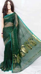 Mina Kari Cotton Dhakai Jamdani Saree