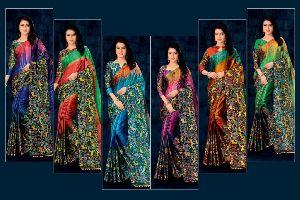 Soft Silk Printed Saree
