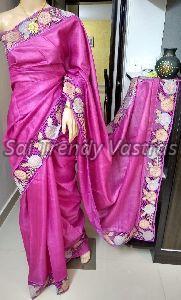 Tussar Art Silk Saree