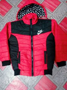 Men Black Zipper Jacket