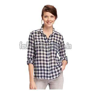 Ladies Check Shirts
