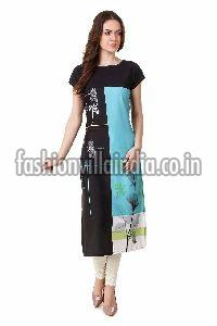 Printed Long Kurtis