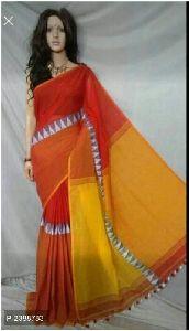 Fancy Madhubani Khadi Sarees