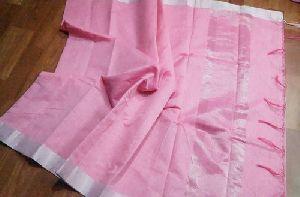 Banarasi Linen Silk Saree