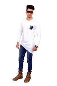 Mens Plain Full Sleeve T Shirt