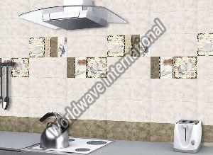 Glossy Ceramic Kitchen Wall Tiles 300x600mm