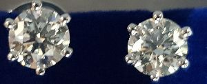 Polished Natural Diamonds mined