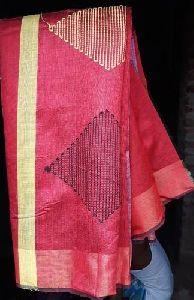 Handmade Silk Saree