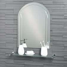 Curved Bathroom Mirror