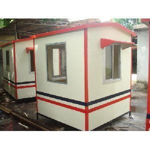 FRP Pyramind Portable Security Cabin