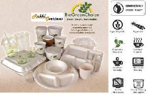 Biodegradable Plates Cups Bowls