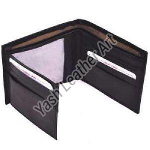 2 Card Slot Mens Leather Wallet