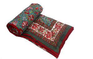 Single Bed Jaipuri Quilt
