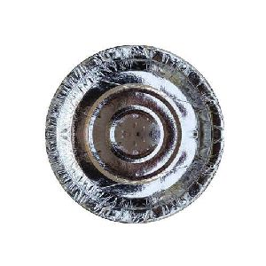 120 GSM Silver Laminated Paper Plate