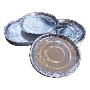 180 GSM Silver Laminated Paper Plate