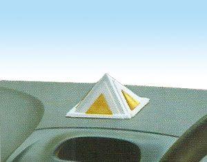 Vastu Silver Pyramid for Car Safety
