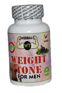 Weight Tone Weight Gain Capsules for Men