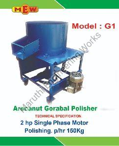 Areca Polisher Machine