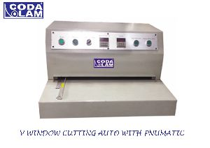 Pnumatic Auto V Window Cutter