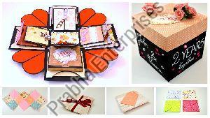 Explosion Paper Box