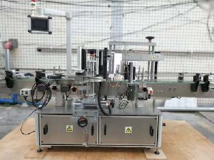 Back And Front Labeling Machine