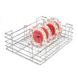 Stainless Steel Kitchen Plate Basket
