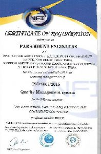 ISO CERTIFICATE CERTIFICATE