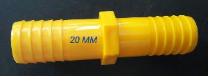 plastic pipe end connector