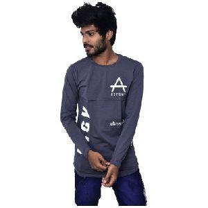 Men's Full Sleeve Round Neck Stylish T-Shirt