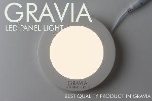 Square Cool White LED Round Panel Light