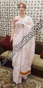Designer Hand Block Printed Sarees
