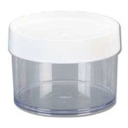 Transparent Round Polypropylene Jar