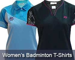 Ladies Badminton T-Shirts