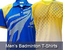 Mens Badminton T-Shirts