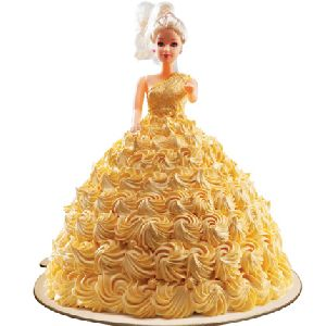 Delicious Pineapple Flavour Cake