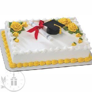 Graduation Success Pineapple Cake